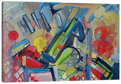 Musical Landscape Canvas Art Print