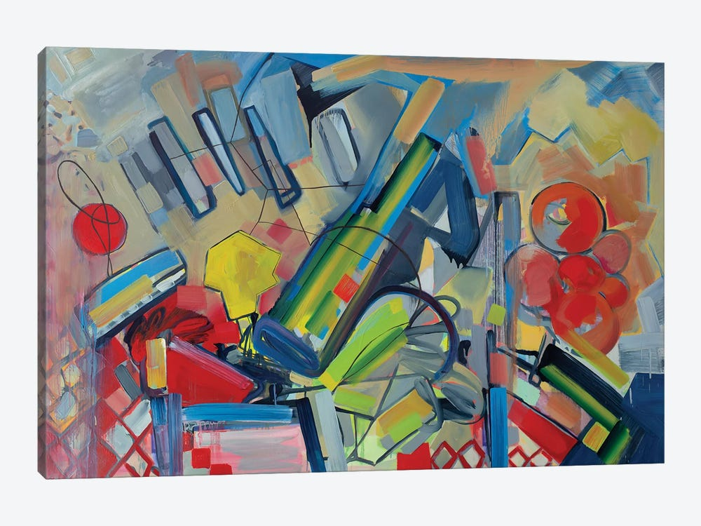 Musical Landscape by Pamela Staker 1-piece Canvas Art Print