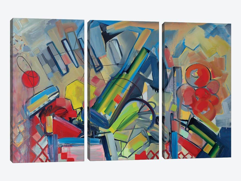 Musical Landscape by Pamela Staker 3-piece Canvas Art Print