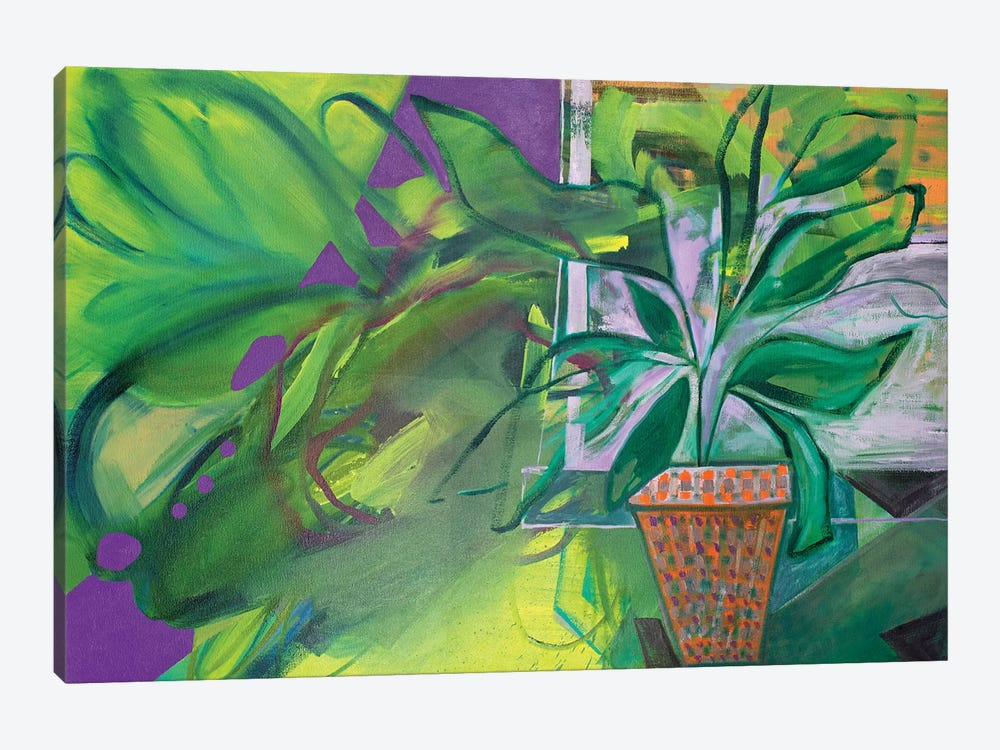 Potted Plant II by Pamela Staker 1-piece Canvas Art
