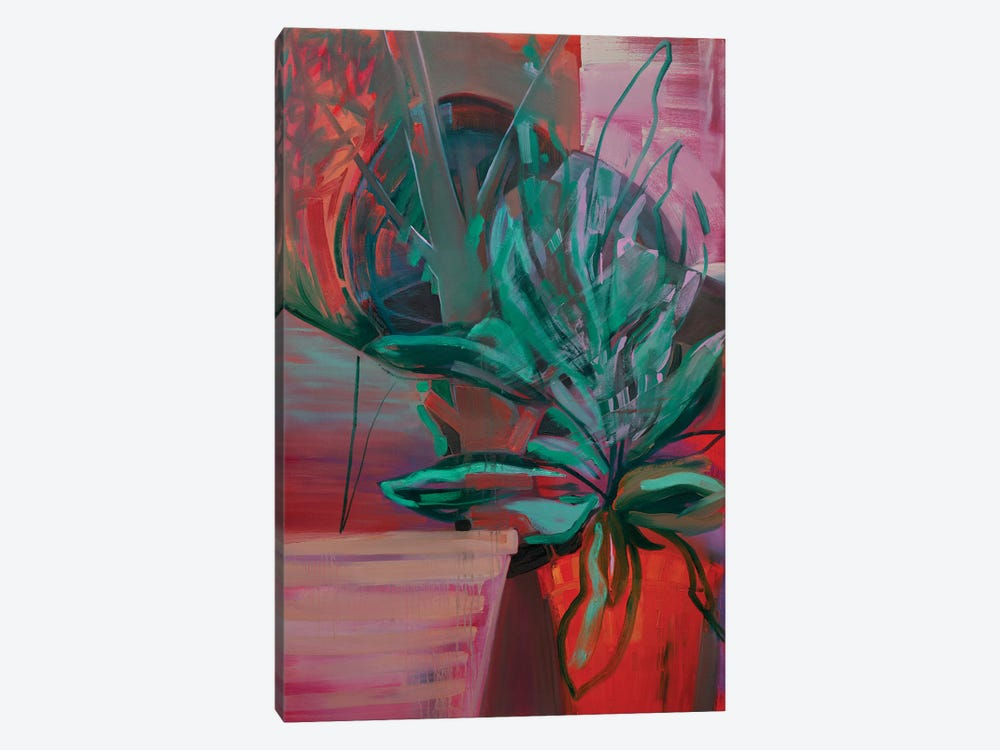 Potted Plant IV by Pamela Staker 1-piece Canvas Art Print
