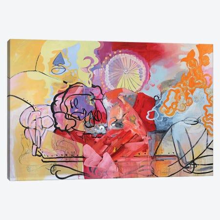 Spring Dream Canvas Print #PSK49} by Pamela Staker Art Print