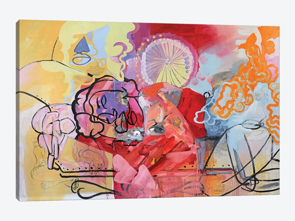 Spring Dream by Pamela Staker 1-piece Canvas Artwork