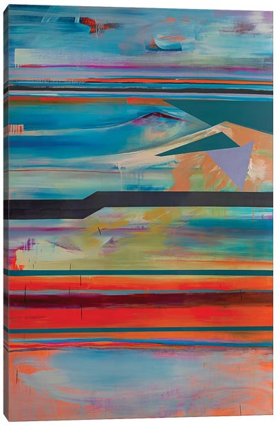 Stacked Horizons IV Canvas Art Print