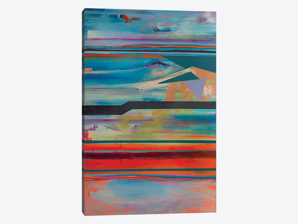 Stacked Horizons IV by Pamela Staker 1-piece Canvas Print