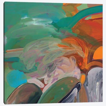 Tropical Landscape Canvas Print #PSK59} by Pamela Staker Canvas Art