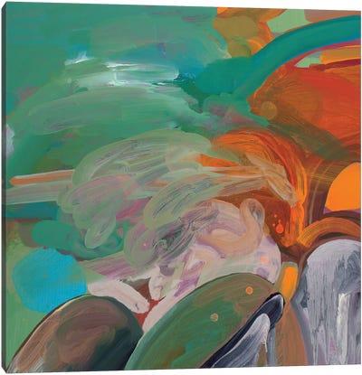 Tropical Landscape Canvas Art Print