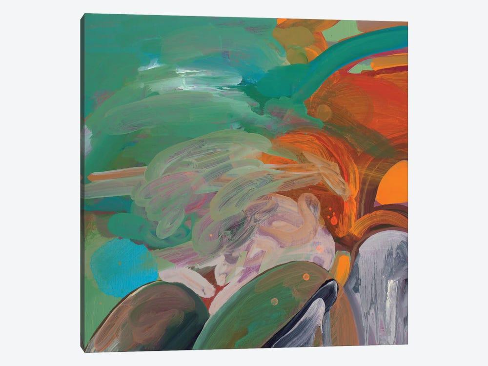 Tropical Landscape by Pamela Staker 1-piece Canvas Art Print