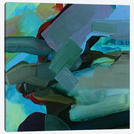 Dark Landscape I Canvas Print #PSK5} by Pamela Staker Art Print