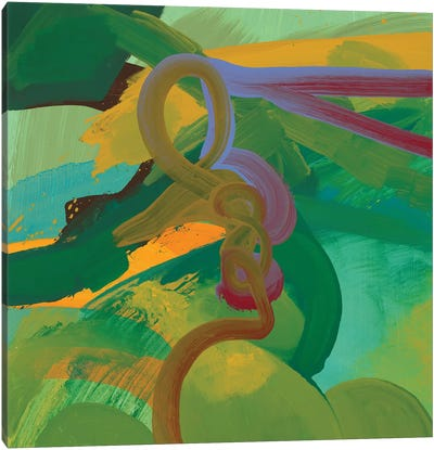 Twist Canvas Art Print