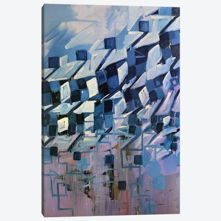 Winter Coat Canvas Print #PSK64} by Pamela Staker Canvas Artwork
