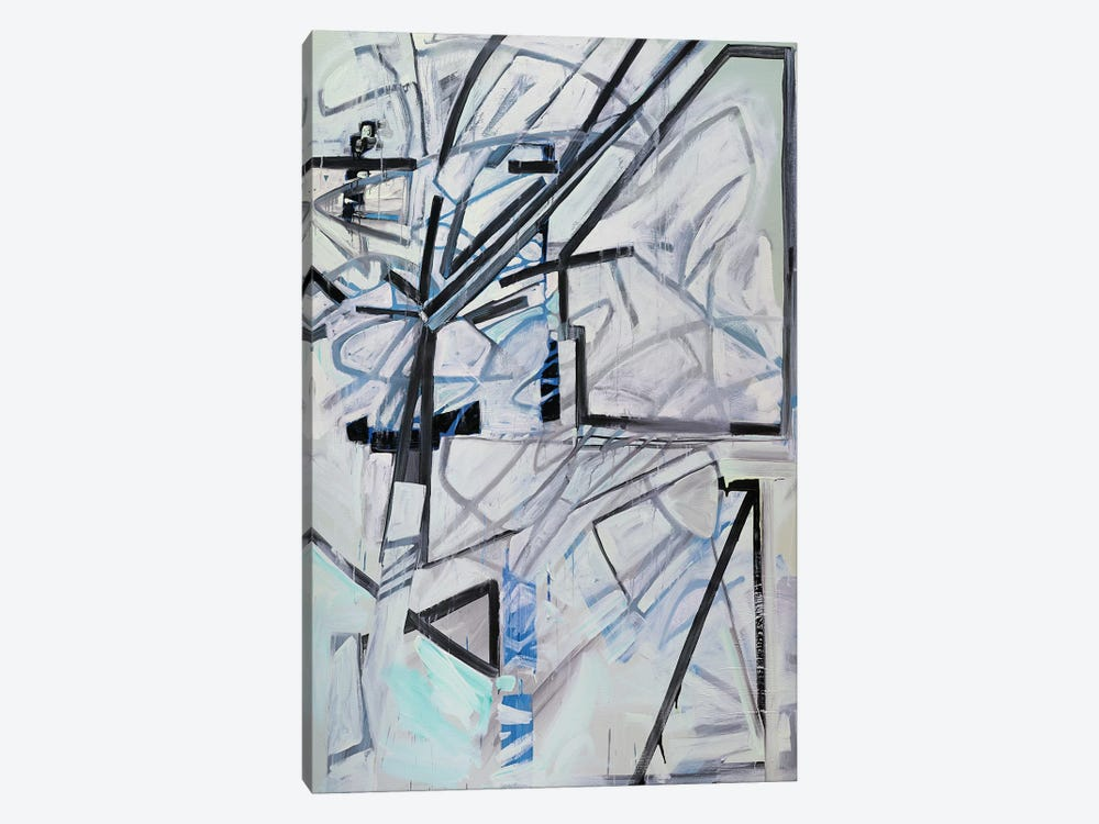 Winter Haiku by Pamela Staker 1-piece Canvas Wall Art