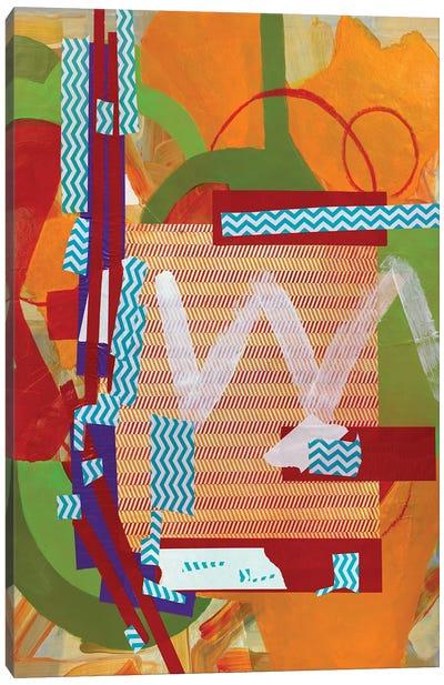 Abstract Study (W) Canvas Art Print