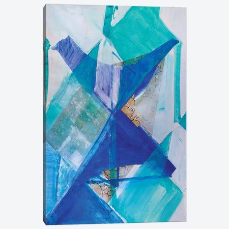 Blue Bird Canvas Print #PSK68} by Pamela Staker Canvas Art Print