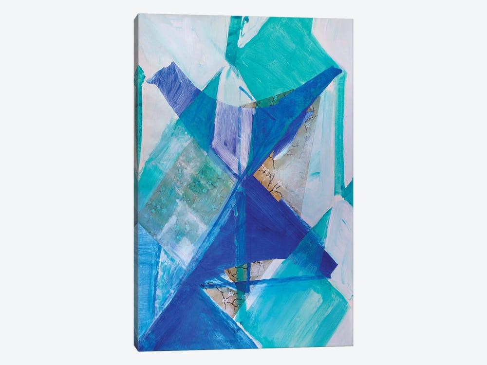 Blue Bird by Pamela Staker 1-piece Canvas Art Print