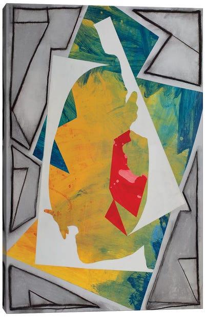 Cutouts And Angles Canvas Art Print