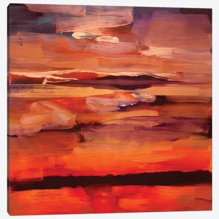 Dark Landscape II Canvas Print #PSK6} by Pamela Staker Canvas Art Print