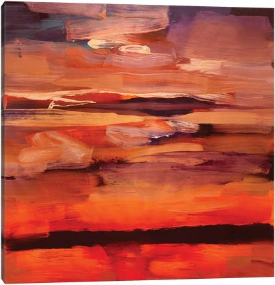 Dark Landscape II Canvas Art Print