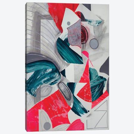 Waves III Canvas Print #PSK70} by Pamela Staker Canvas Art