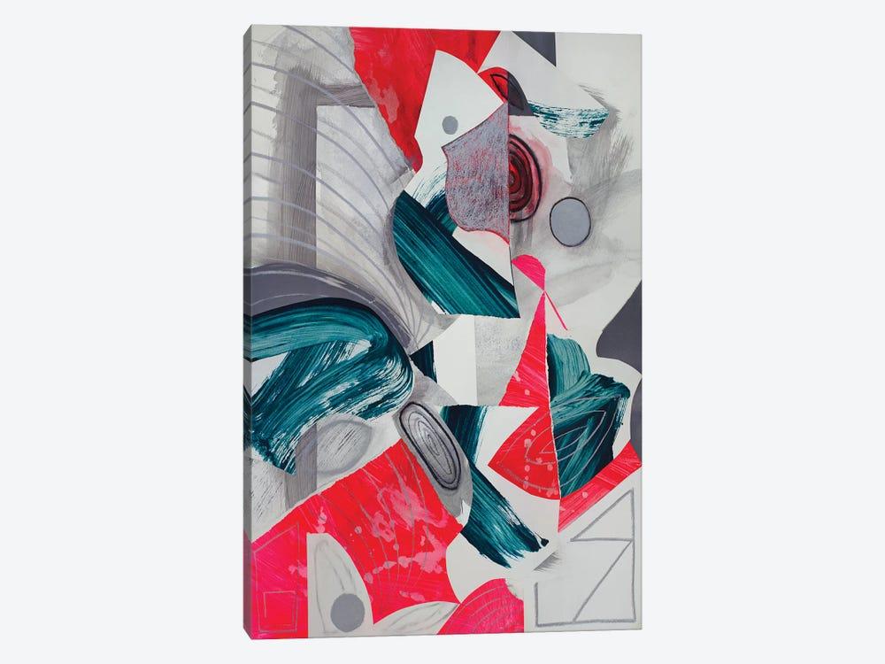 Waves III by Pamela Staker 1-piece Canvas Wall Art