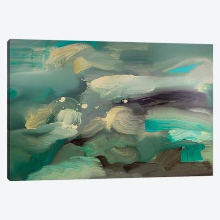 Ocean I Canvas Print #PSK75} by Pamela Staker Canvas Print
