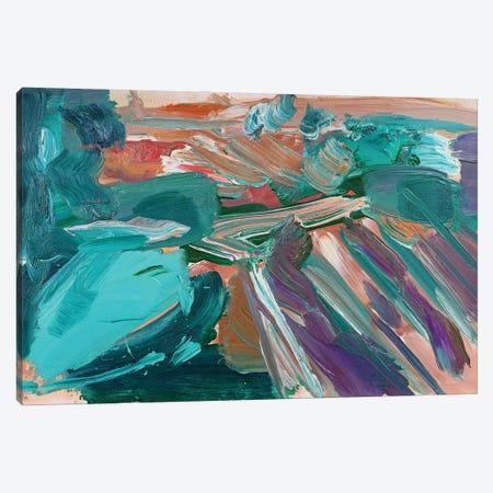 Abstract Vineyard III Canvas Print #PSK78} by Pamela Staker Canvas Wall Art