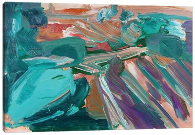 Abstract Vineyard III Canvas Art Print