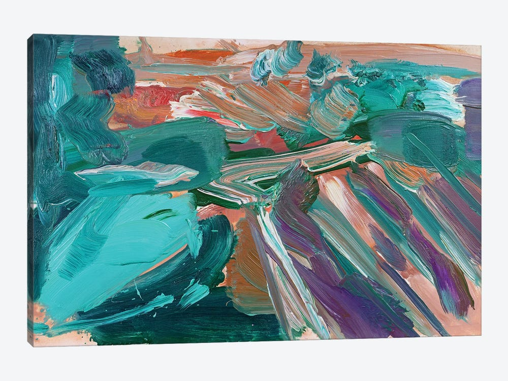 Abstract Vineyard III by Pamela Staker 1-piece Canvas Art