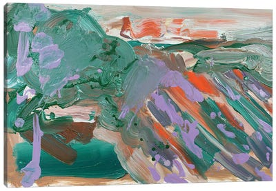 Abstract Vineyard IV Canvas Art Print