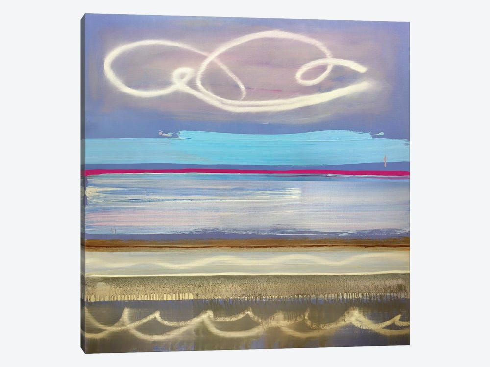 Signs In The Sea by Pamela Staker 1-piece Canvas Artwork