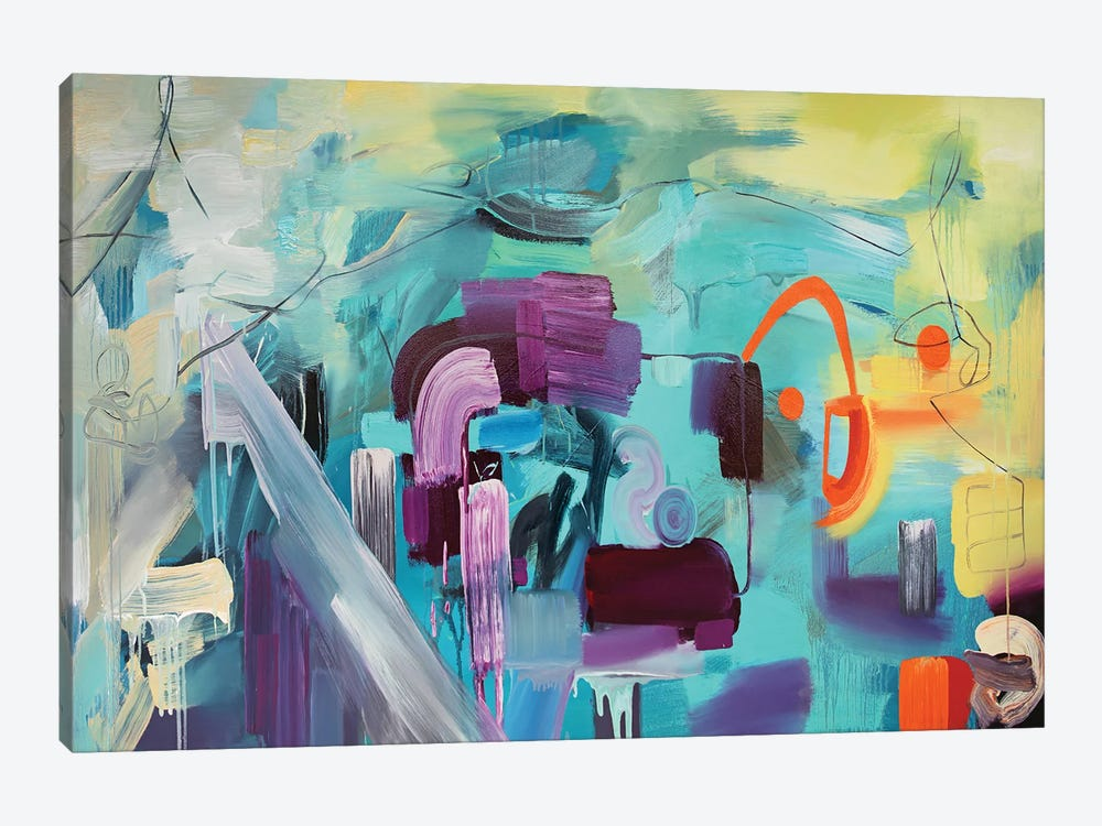 Ocean VI by Pamela Staker 1-piece Canvas Print