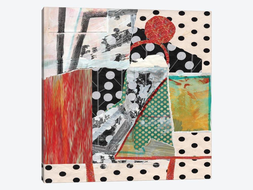 Dots On Dots by Pamela Staker 1-piece Canvas Print