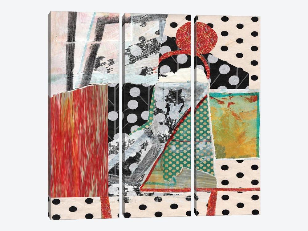 Dots On Dots by Pamela Staker 3-piece Canvas Art Print