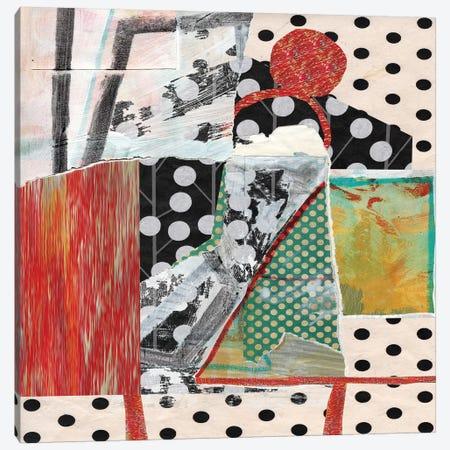 Dots On Dots Canvas Print #PSK8} by Pamela Staker Canvas Art