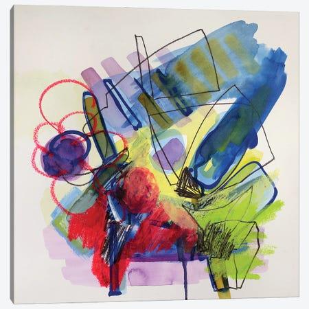 Modernist Study I Canvas Print #PSK93} by Pamela Staker Canvas Wall Art
