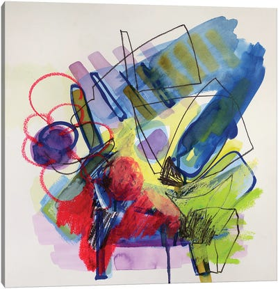 Modernist Study I Canvas Art Print