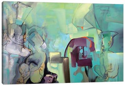 The Listeners Canvas Art Print
