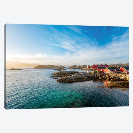 Mortsund - Lofoten Canvas Print #PSL114} by Philippe Sainte-Laudy Canvas Art Print
