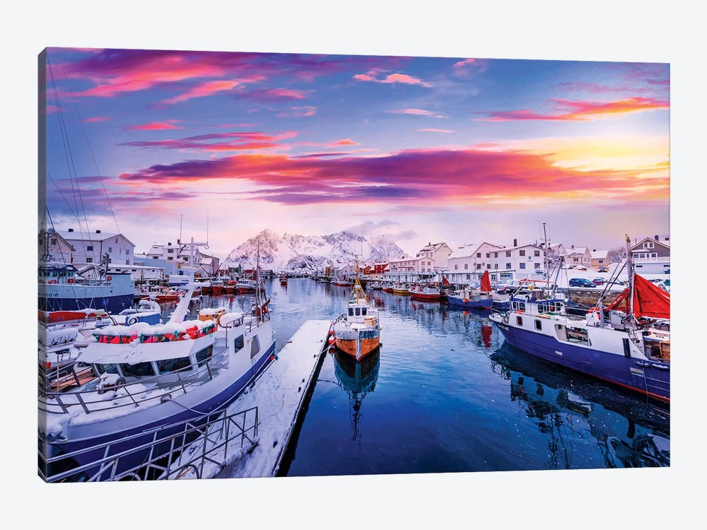 Vibrant Norway by Philippe Sainte-Laudy 1-piece Art Print