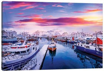 Vibrant Norway Canvas Art Print