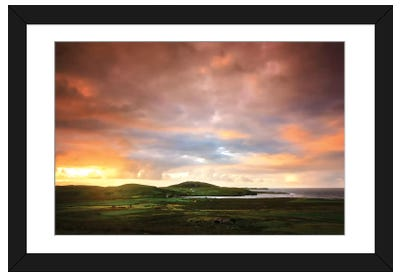 Walking To The Sun Framed Art Print