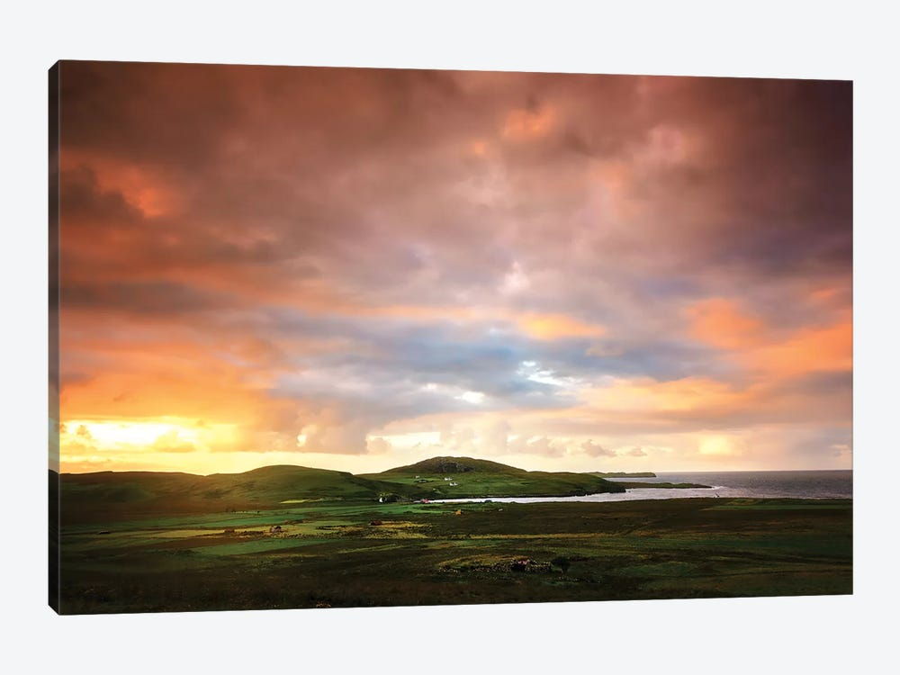 Walking To The Sun by Philippe Sainte-Laudy 1-piece Canvas Wall Art