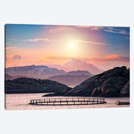 Witnessing The Death Of The Sun Canvas Print #PSL187} by Philippe Sainte-Laudy Canvas Wall Art
