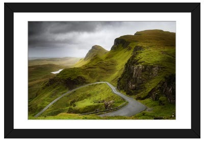 A Heart On The Quiraing Framed Art Print