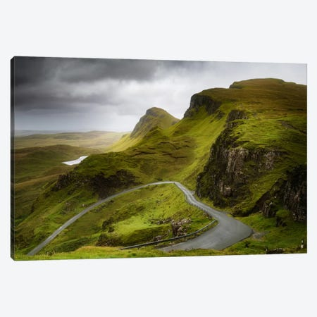 A Heart On The Quiraing Canvas Print #PSL2} by Philippe Sainte-Laudy Canvas Print