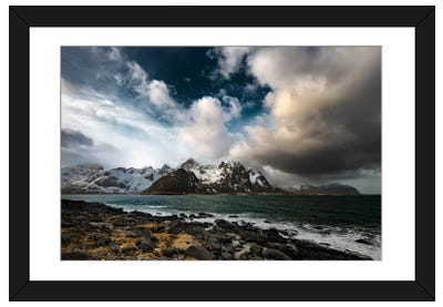 Clash Of Clouds Framed Art Print