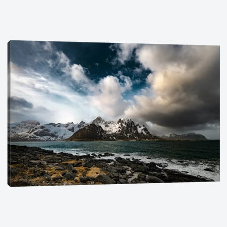 Clash Of Clouds Canvas Print #PSL42} by Philippe Sainte-Laudy Canvas Art