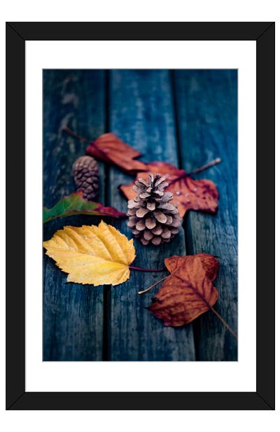 Deposited By The Wind Framed Art Print