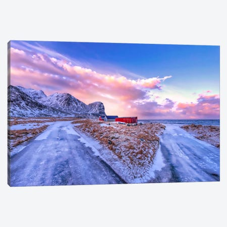 Evening Sound Canvas Print #PSL57} by Philippe Sainte-Laudy Canvas Artwork