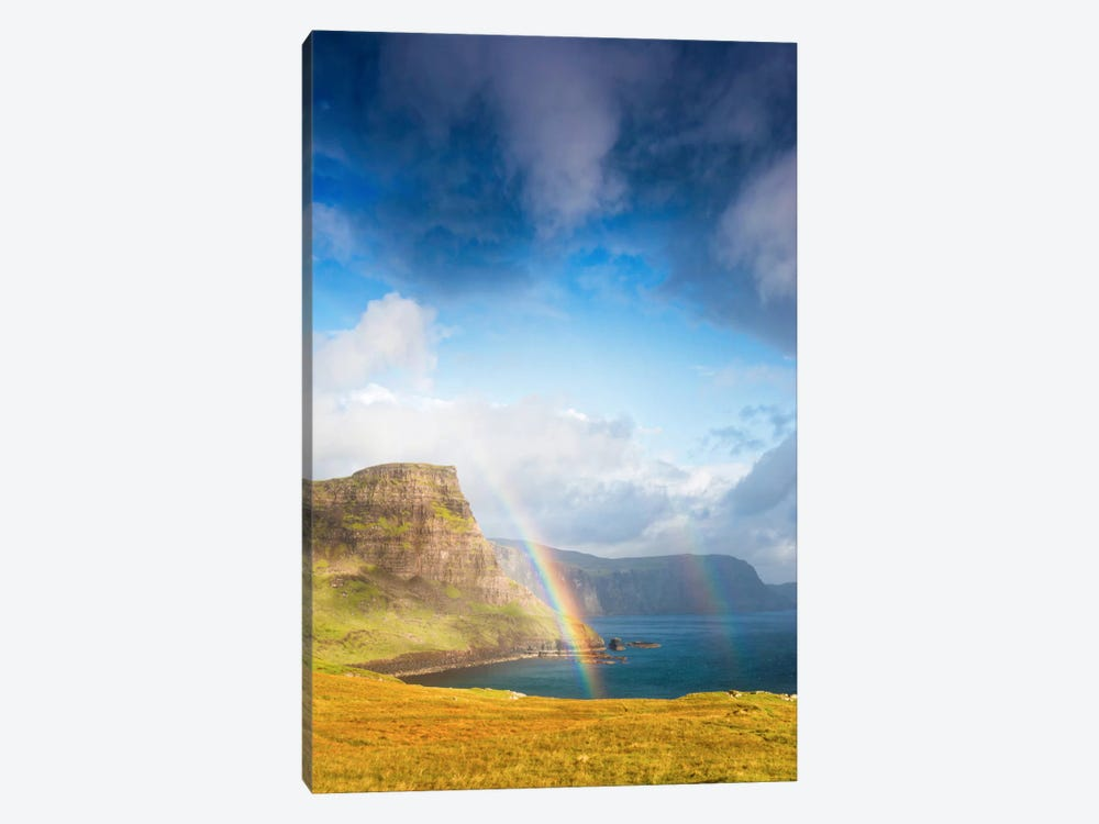 A Rainbow In The Clouds by Philippe Sainte-Laudy 1-piece Canvas Print